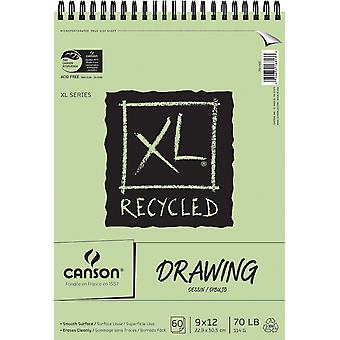Canson Xl Recycled Drawing Paper Pad 9