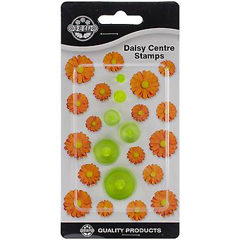Plastic Cutter Set 6Pc Daisy Centers 103Ff024