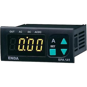Enda EPA241A-R-230 SW Programmable LED ammeter EPA 141S-R ±5 A/AC/DC Assembly dimensions 70 x 29 mm