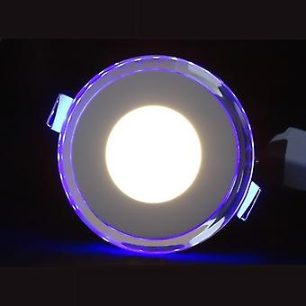 I LumoS LED 15 Watt Round Recessed Ceiling  DownLight with Blue Light