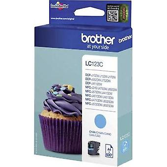 Brother Ink LC - 123C opprinnelige Cyan LC123C