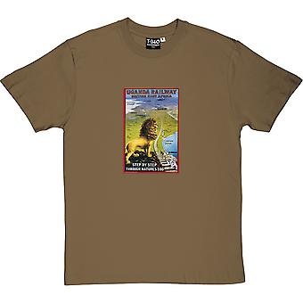 Uganda Railway Poster Men's T-Shirt