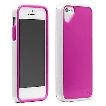 OLO Sling cover iPhone 5 / 5S White Pink