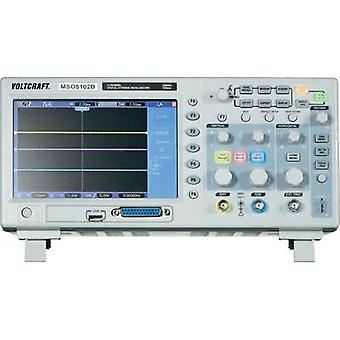 Digital VOLTCRAFT MSO-5102B 100 MHz 18-channel 1 null 512 null 8 Bit Digital storage (DSO), Mixed signal (MSO)