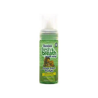 Tropiclean Fresh Breath Mint Foam 4.5oz