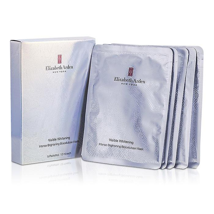 Elizabeth Arden Visible Whitening Intense Brightening Biocellulose Mask 5pcs