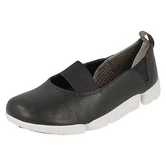 Ladies Clarks Casual Shoes Tri Step