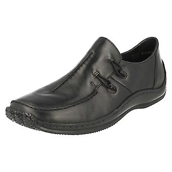 Damen Rieker flache Schuhe L1751