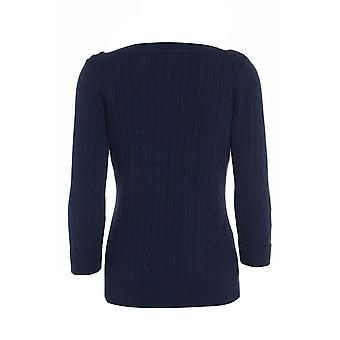 Three Quarter Grey Knitted Jumper UK SIZE 14