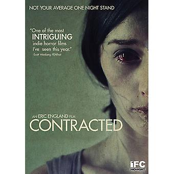 Contracted [DVD] USA import