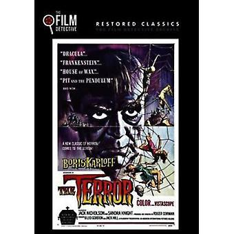 Terror [DVD] USA importerer