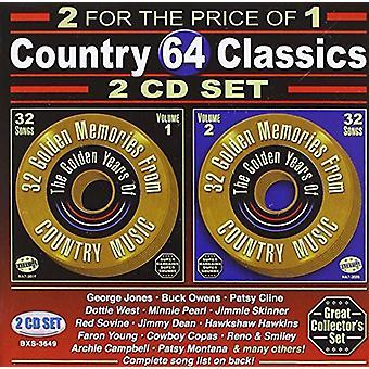 64 Songs: Country Classics - 64 Songs: Country Classics [CD] USA import