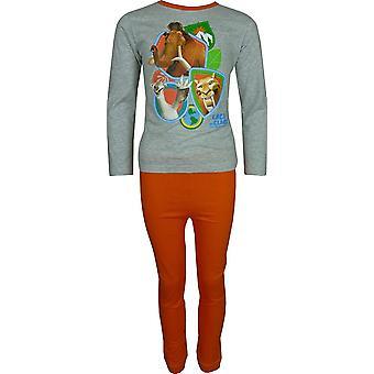 男の子アイス · エイジ「年齢・ デ ・ デミグラス 5」長袖パジャマ セット