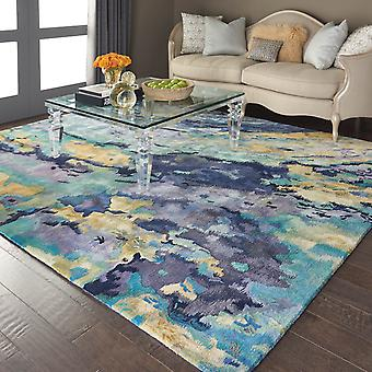 Prismatic Rugs Prs09 By Nourison In Silver And Blue