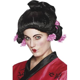 Geisha wig Japan Japanese girl Geisha wig