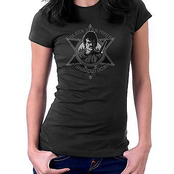 Black Star Ninja Ninjutsu Dojo American Ninja Women's T-Shirt