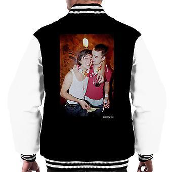 Pete Doherty Carl Barat Photograph Männer Varsity Jacket