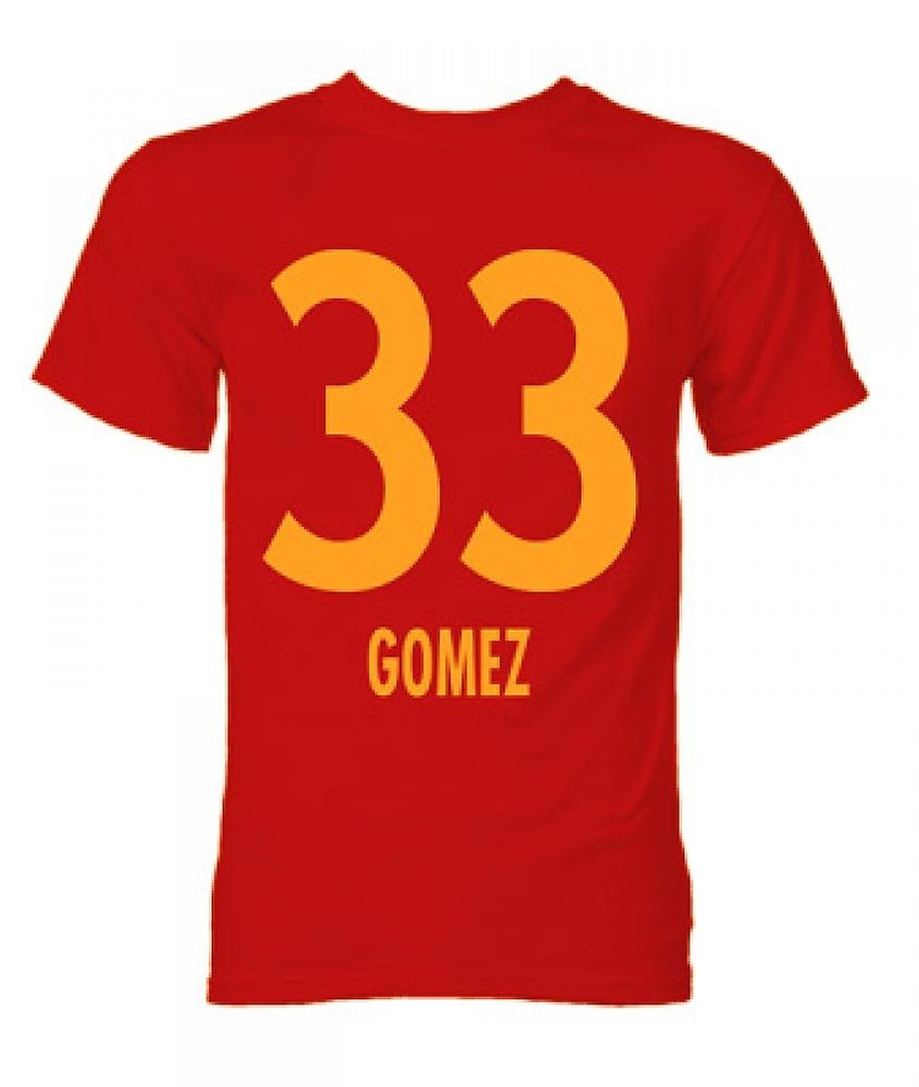 T-Shirt Mario Gomez Bayern Munich Hero (Red)