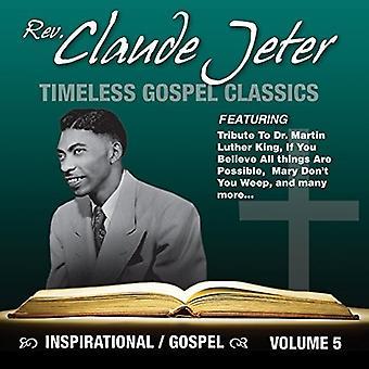 Rev. Claude Jeter - inspirerende evangelium [CD] USA import