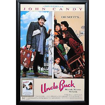 Uncle Buck - Signed Movie Poster
