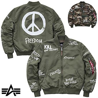 Alpha industries MA-1 chaqueta libertad VF