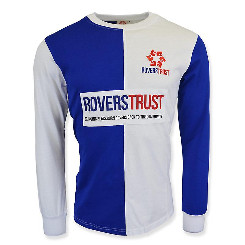 Blackburn Rovers Trust Retro Shirt