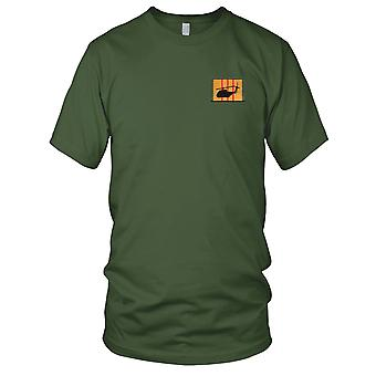 CH-53 Silhouette On Vietnam Service Ribbon Embroidered Patch - Kids T Shirt