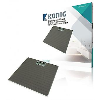 König Digital Personal scales 150 kg, Grey
