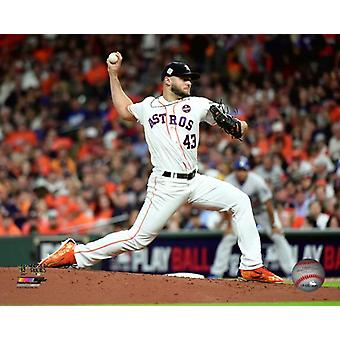 Lance McCullers Game 3 of the 2017 World Series Photo Print