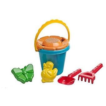 Karpan Round Cube 16 Cm With Molds Shovel And Rake (Outdoor , Garden Toys , Sand Toys)