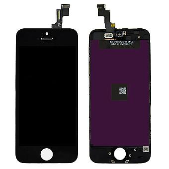 A + 5S LCD Touchscreen iPhone-Black