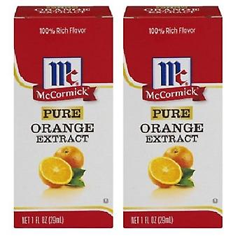 McCormick Pure Orange Extract 2 Bottle Pack