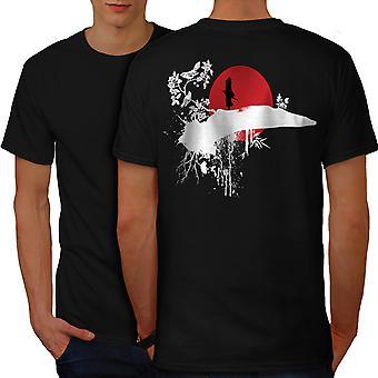 Paradise Birds Life Men BlackT-shirt Back | Wellcoda