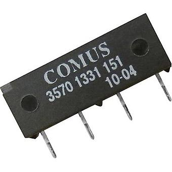 Reed relay 1 maker 12 Vdc 0.5 A 10 W SIP 4