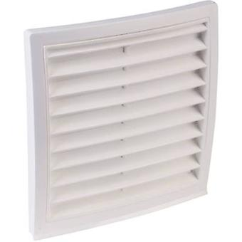 Vent grille PVC Suitable for pipe diameter: 150 mm Wallair