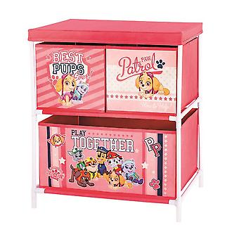 Paw Patrol cabinet rack 3 drawers