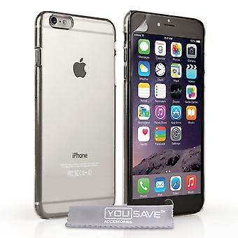Yousave Accessories Iphone 6 Plus And 6s Plus Hard Case - Crystal Clear
