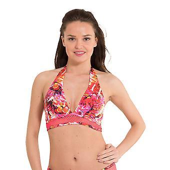 LingaDore 2915WT-153 kvinder Paradise flerfarvet motiv badetøj badetøj Bikini Top