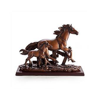 Lopende paarden Ornament
