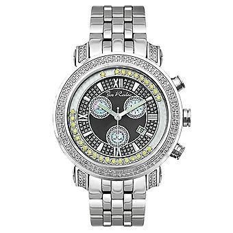 Reloj Joe Rodeo diamante hombres - TYLER plata 2 quilates