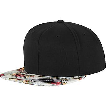 Flexfit by Yupoong Mens Fashion Print Premium Wool Snapback Cap