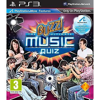 Buzz! De ultieme muziek Quiz (PS3)