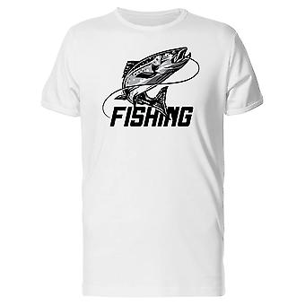 Fishing / Fish With Hook Tee Men's -Image by Shutterstock
