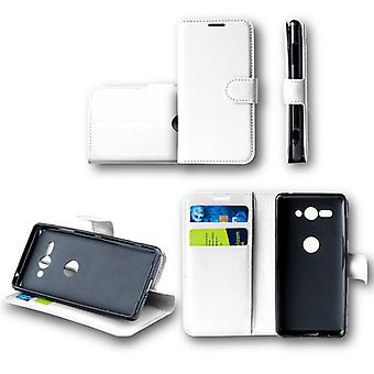 WIKO Lenny 5 Pocket wallet premium white protective sleeve case cover pouch new accessories