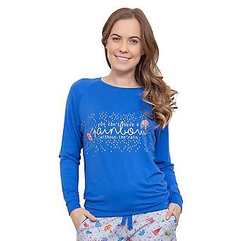 الأزرق Cristie بيجامة بيجاما أعلى سيبيرجاميس 3888 المرأة
