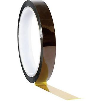 Tape Amber (L x W) 33 m x 6 mm TOOLCRAFT 911XB063