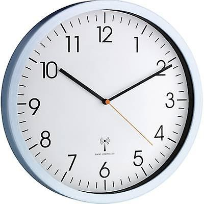 TFA 60.3517.55 Radio Wall clock 30.5 cm x 4.5 cm Aluminium (matt)
