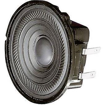 Visaton K 50 WP 2 5 cm Wideband luidspreker chassis 2 W 8 Ω