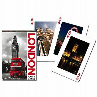 London Sehenswürdigkeiten Satz Spielkarten