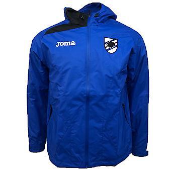 2018-2019 Sampdoria Joma Rain Jacket (Blue)